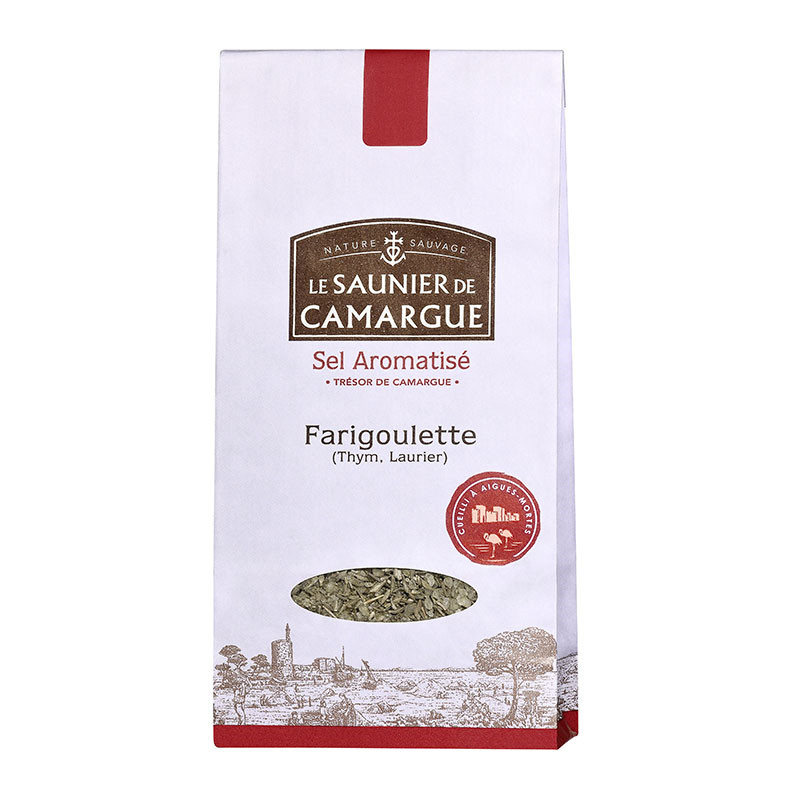 Flavoured Farigoulette salt...