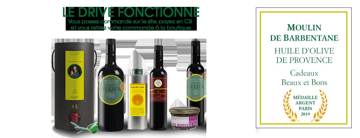 Découvrir nos huiles d'olive